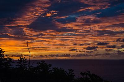 Sunset, Ubud, Bali