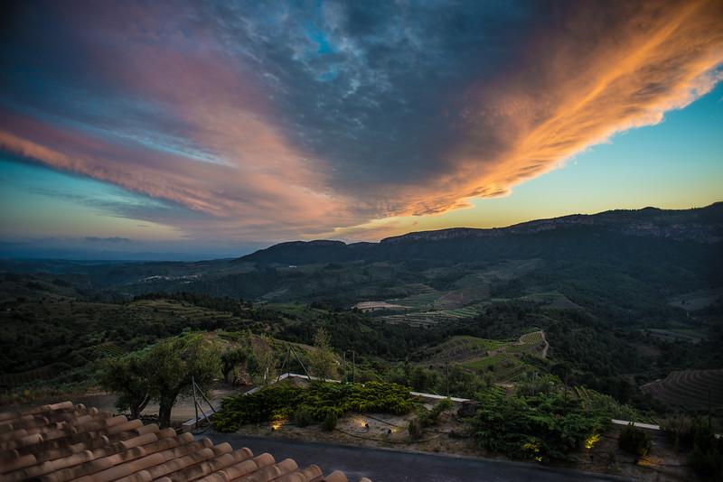 Sunset, Priorat, Catalunya, Spain