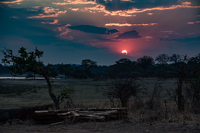 Sunset 2, Vwaza Marsh Wildlife Reserve