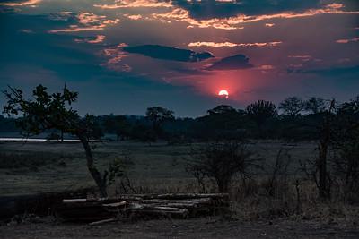 Sunset 2, Vwaza Marsh Wildlife Reserve
