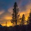Sunset, Lassen Volcanic National Park, California