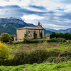 Cemetery, Village of Valle, Cantabria, Spain