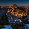 Sunset, Half Dome, Yosemite National Park