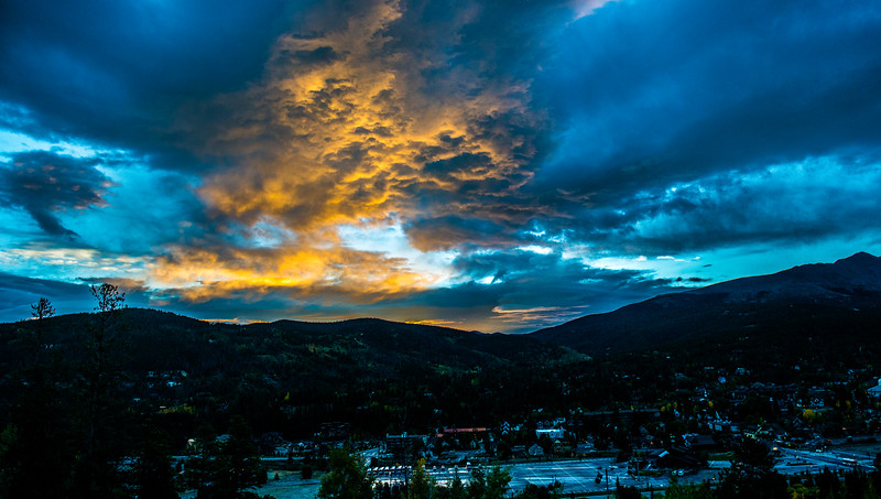 Sunrise, Breckenridge, Colorado