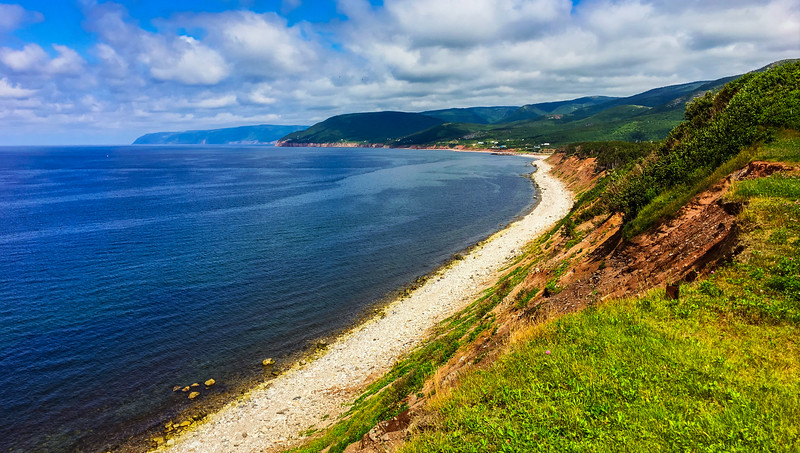 Pleasant Bay, Cabot Trail, Nova Scotia, Canada