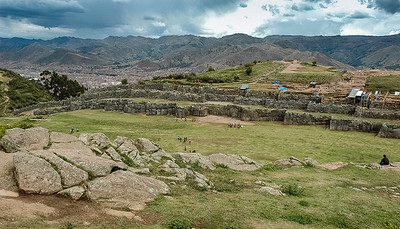 Sacsayhuaman Inca City, near Cusco, Peru