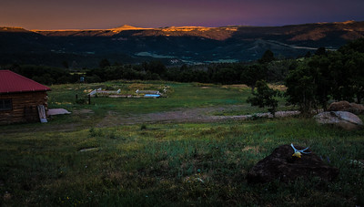 Alpenglow, Horse Mesa Ranch, New Mexico