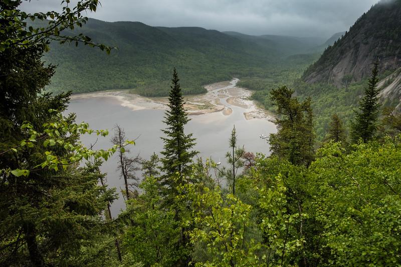 Eternity Bay, Saguenay Fjord, Quebec, Canada