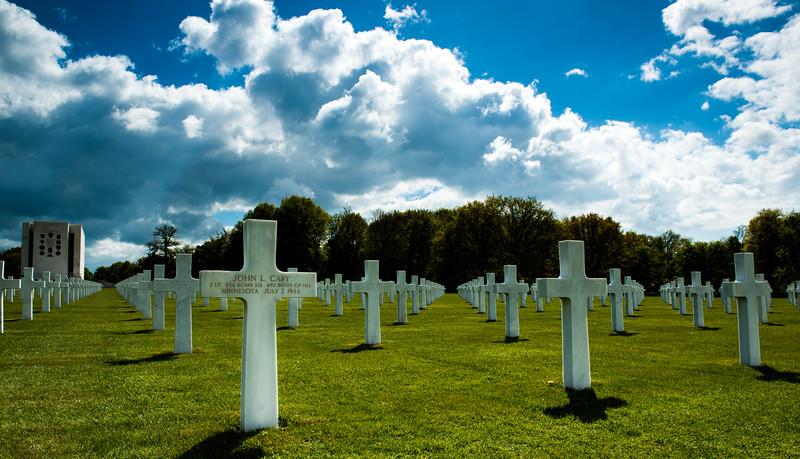 Ardennes American Cemetery, Liege, Belgium