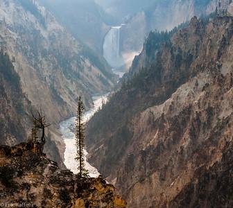 Berg, dal och vatten