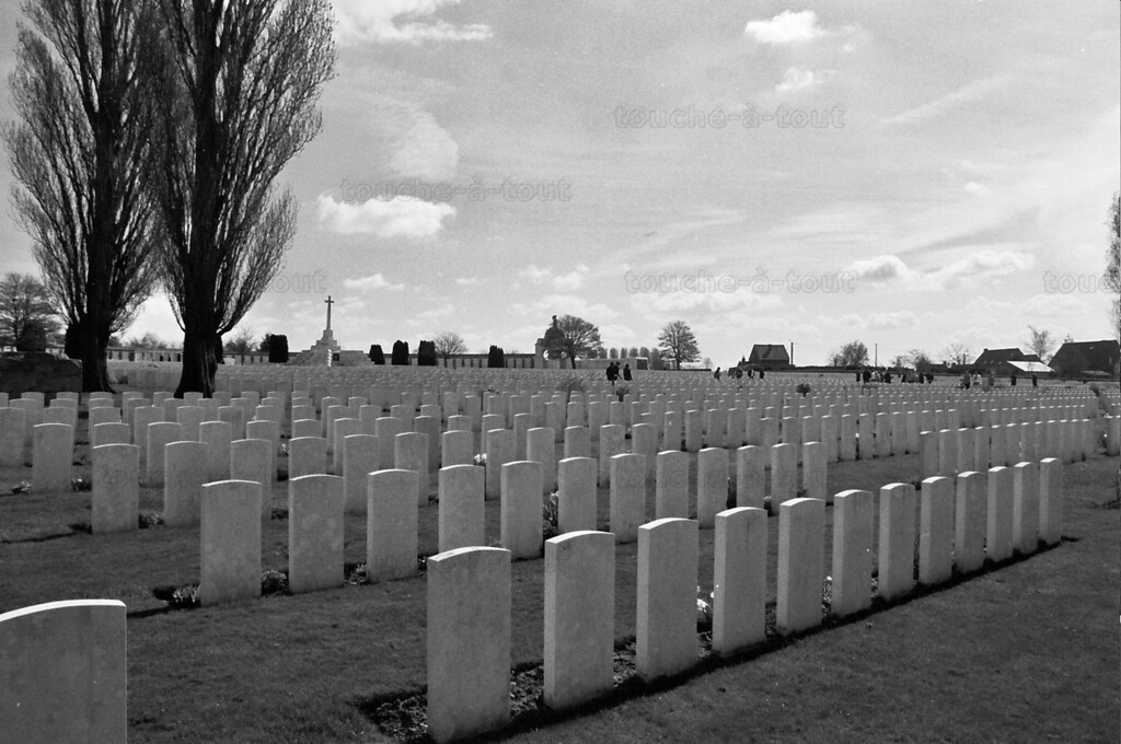 Tyne Cot British military cemetery