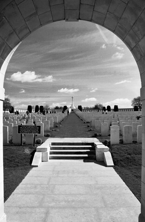 Tyne Cot British military cemetery