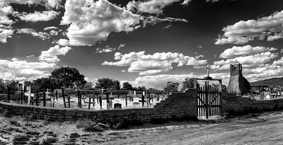 Graveyard, Taos Pueblo, New Mexico