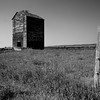 Ruined Grain Elevator, South Dakota
