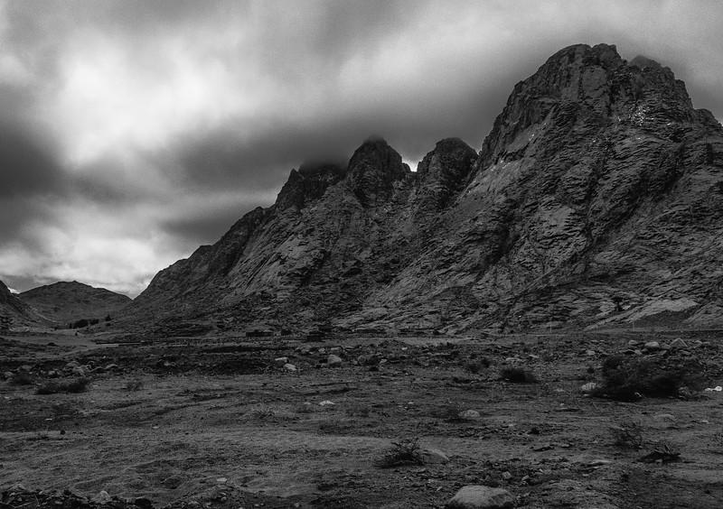 Mount Horab, Sinai, Egypt