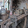 CLUTTER IN THE SHED by JOHN BROOKS