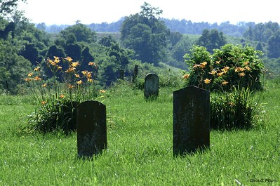 Garrard County, Kentucky - Country cemetary near Buckeye, KY.
