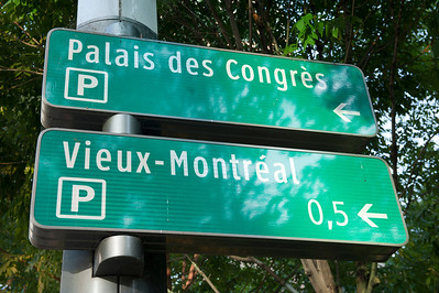 Sign, Montreal, Quebec, Canada.