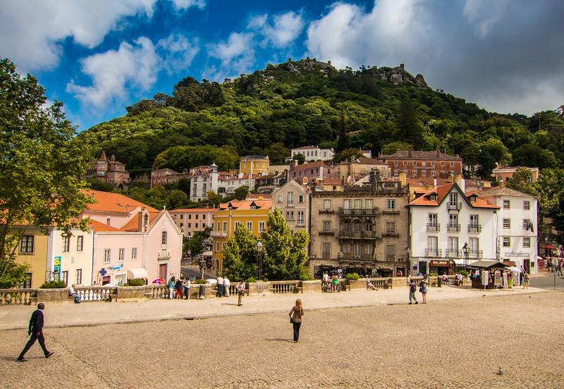 Plaza, Sintra, Portugal