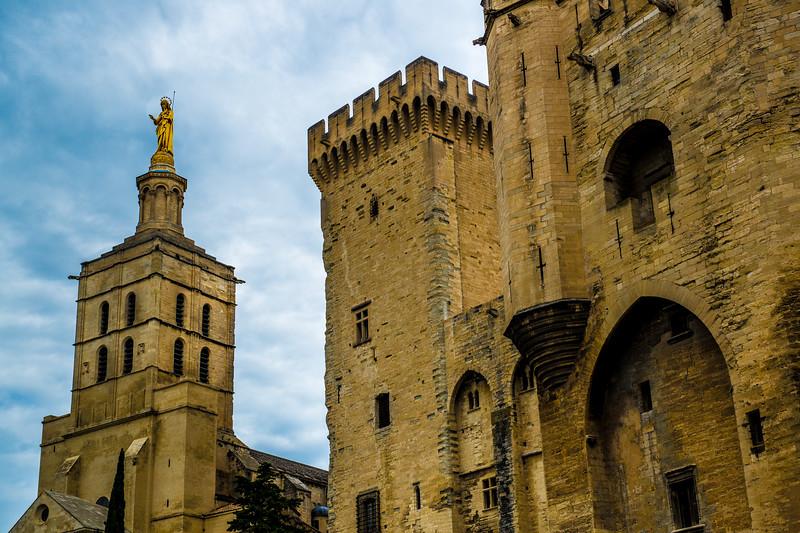 Popes Palace, Avignon, France