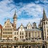 Lys River Bank, Ghent, Belgium