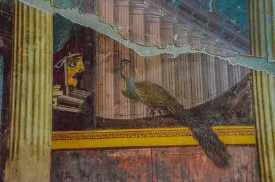 Mural Villa Poppea, Pompeii, Italy