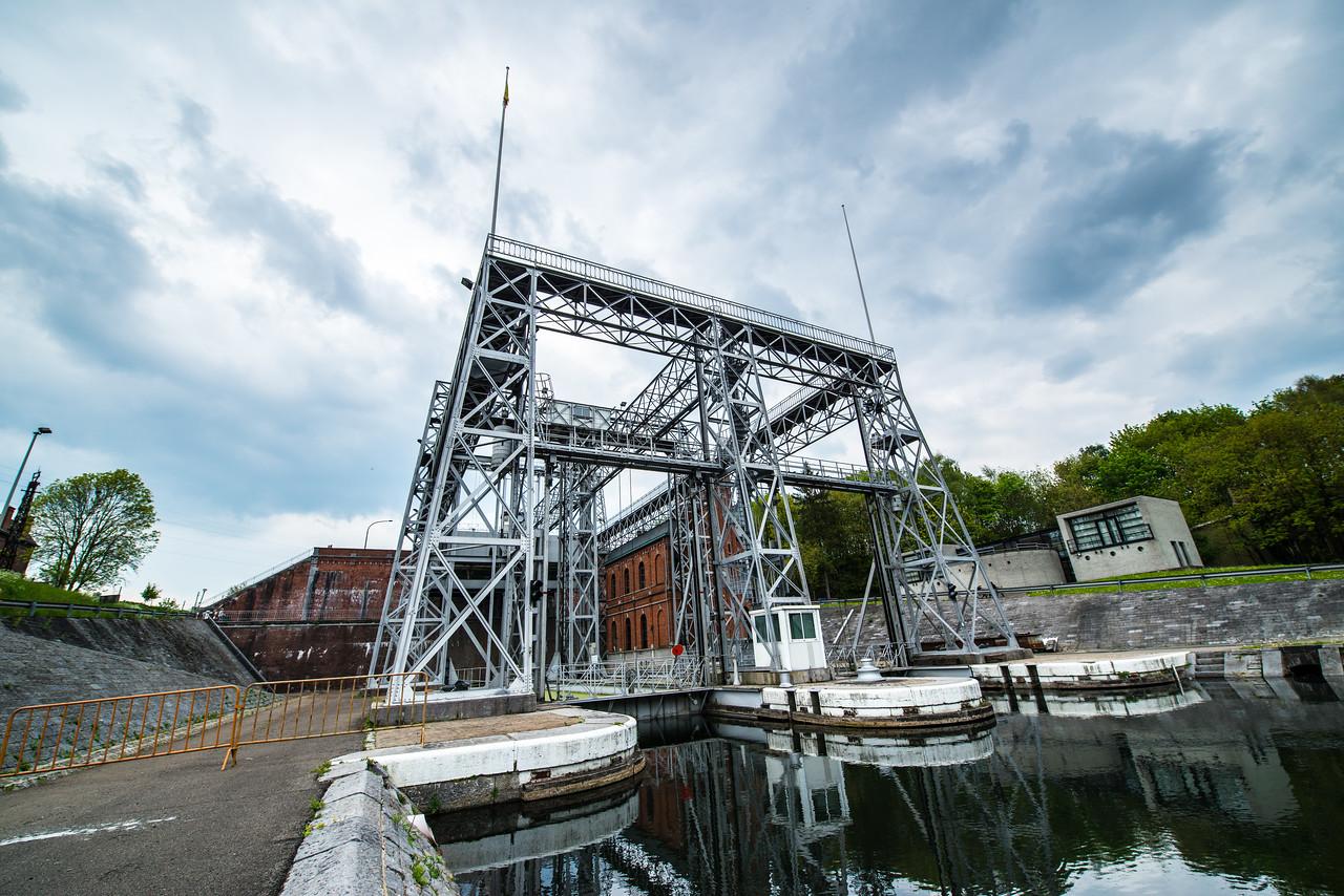 Canal Lift, Belgium