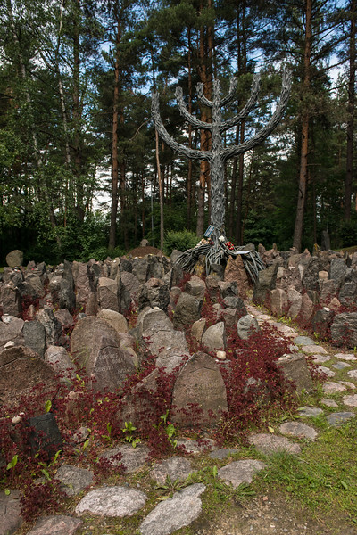 Holocaust Memorial, Rumbula, Latvia