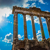 Temple of Saturn, The Forum, Rome, Italy
