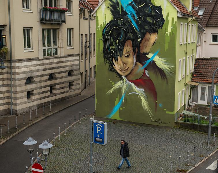 Mural, Heidelberg, Germany