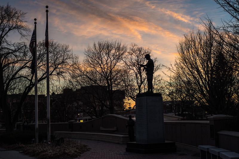 War Memorial, Council Bluffs, Iowa
