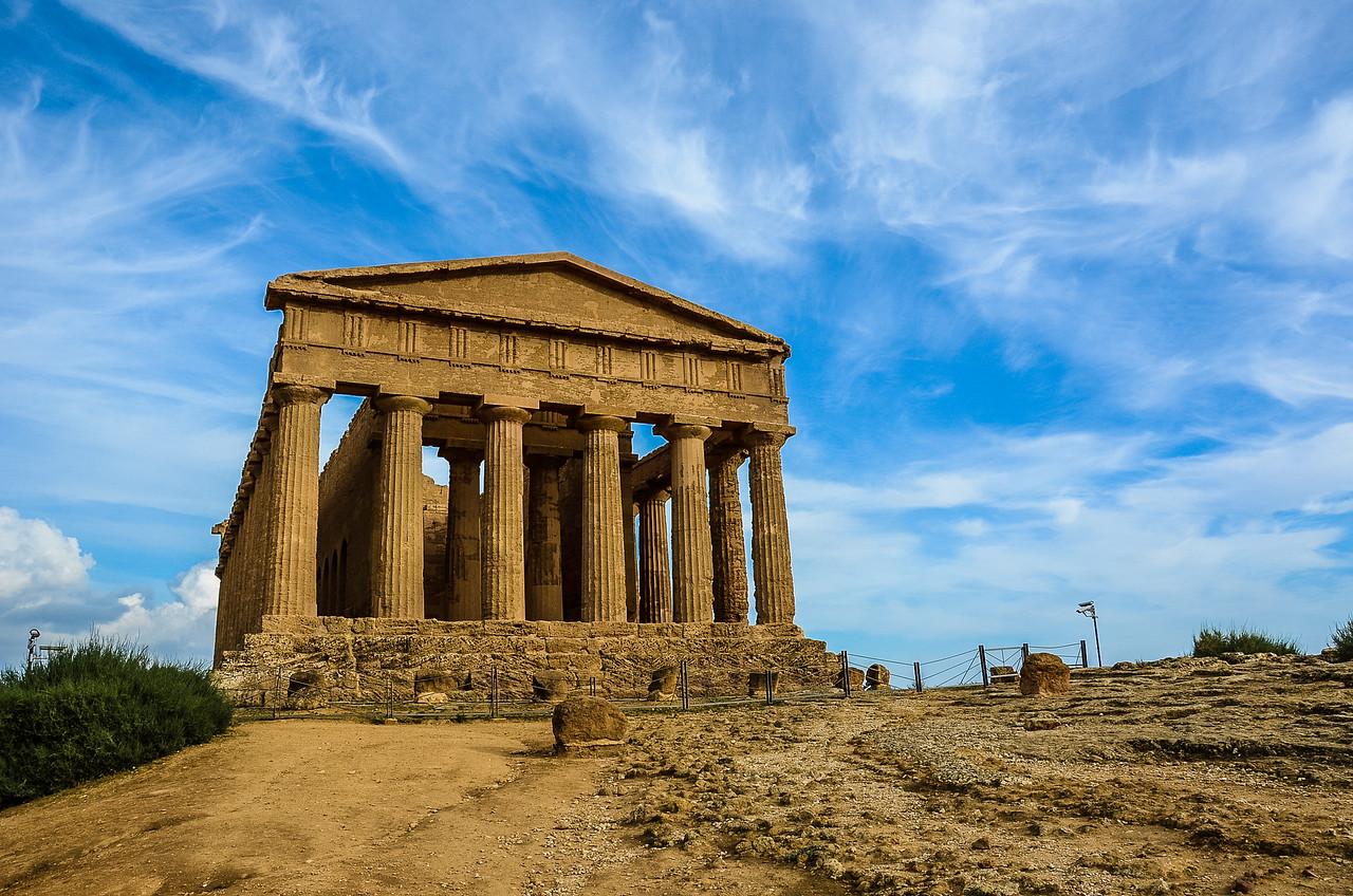 Temple of Concordia, Agrigento, Sicily, Italy