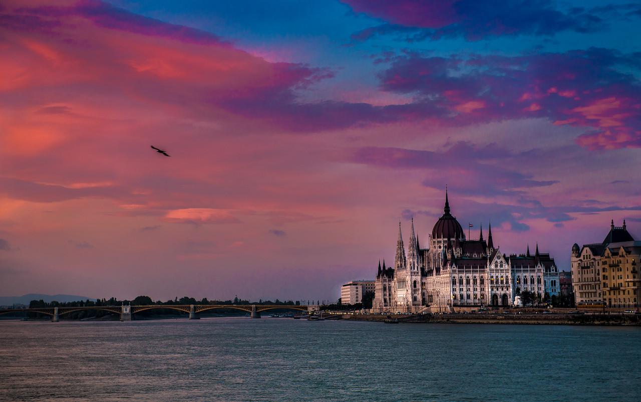 Parliament, Danube River, Budapest, Hungary