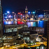 Skyline from the Panorama Hotel, Hong Kong