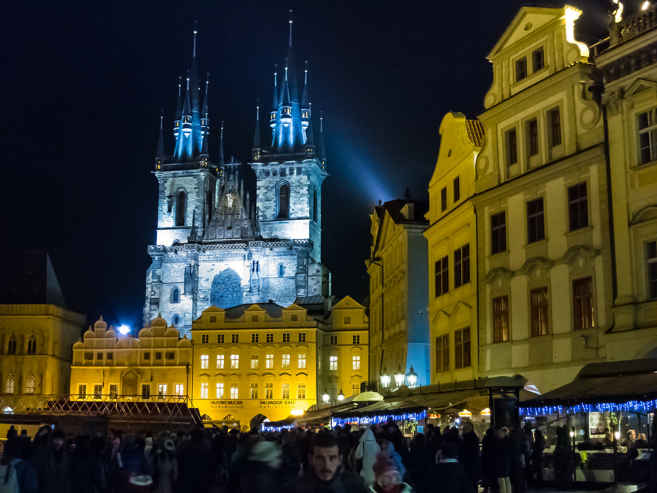 Christmas Market, Prague, Czech Republic