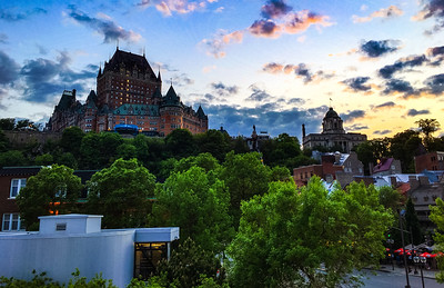 The Chateau, Quebec City, Canada