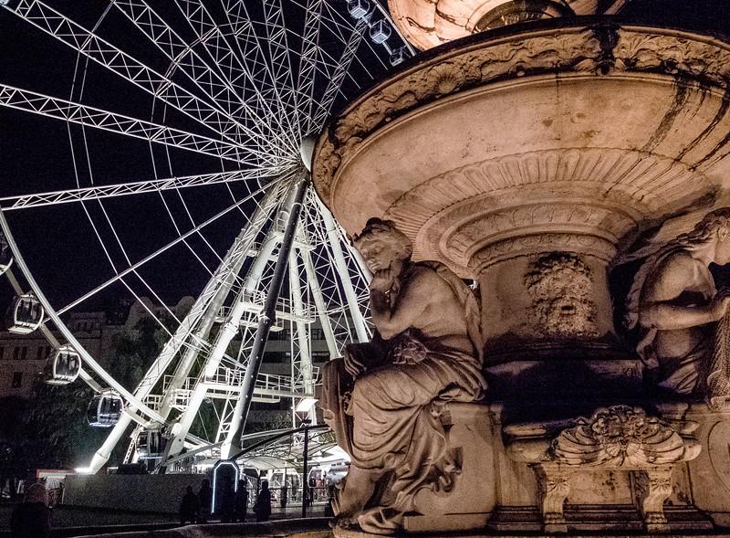 Fountain, Budapest, Hungary
