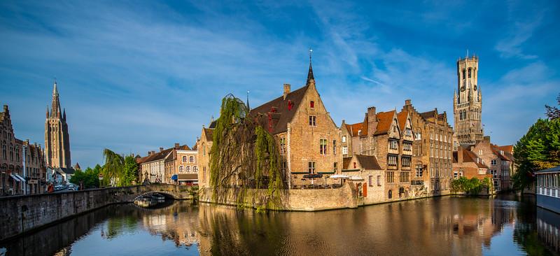 Canal, Bruges, Belgium