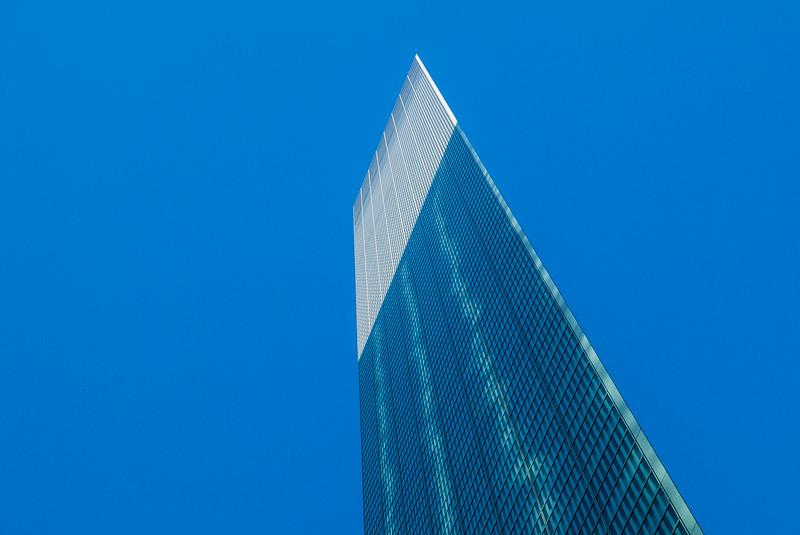 Dentsu Building, Tokyo, Japan