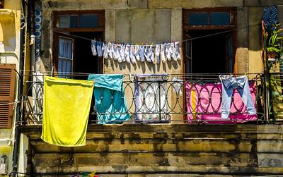 Laundry Day, Oporto, Portugal