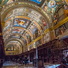 Library, El Escorial Palace, Spain
