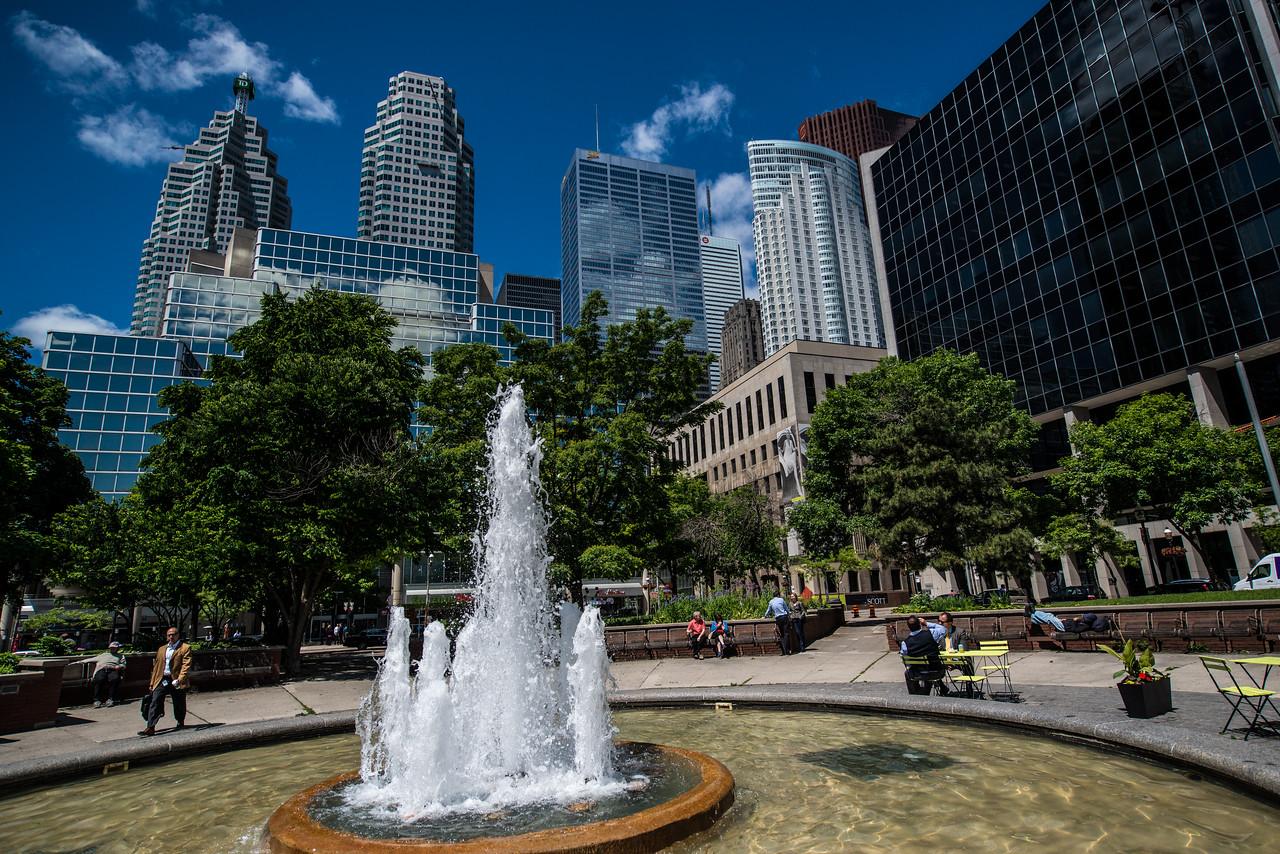 Berczy Park, Toronto, Canada