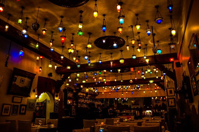 Restaurant, Istanbul, Turkey