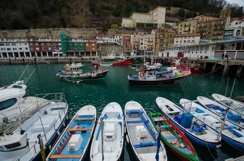 Fishing Boats, San Sebastian, Spain