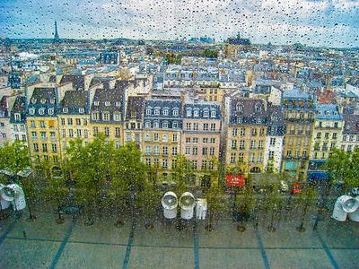 Rooftops, Paris, France