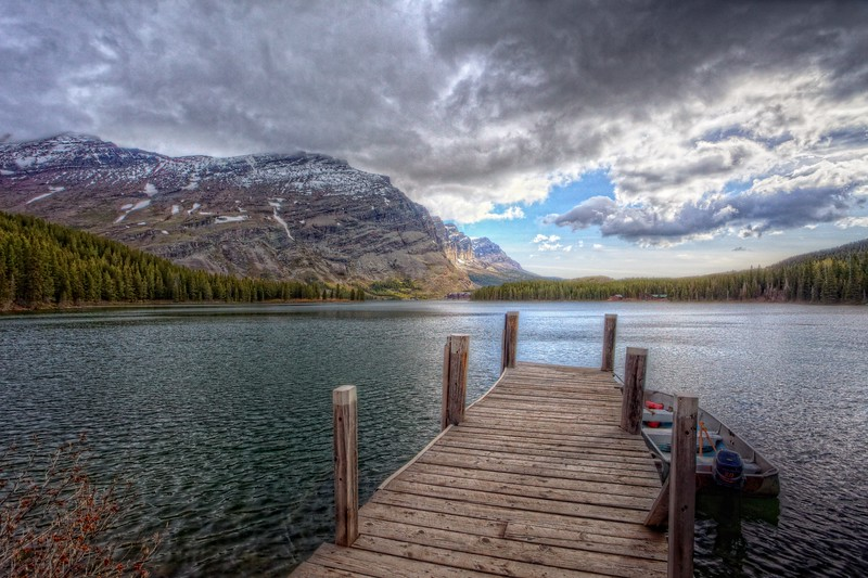Swiftcurrent Lake Dock