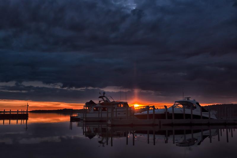 Sunrise at the Marina
