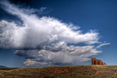 Clouds Over Abo Ruins