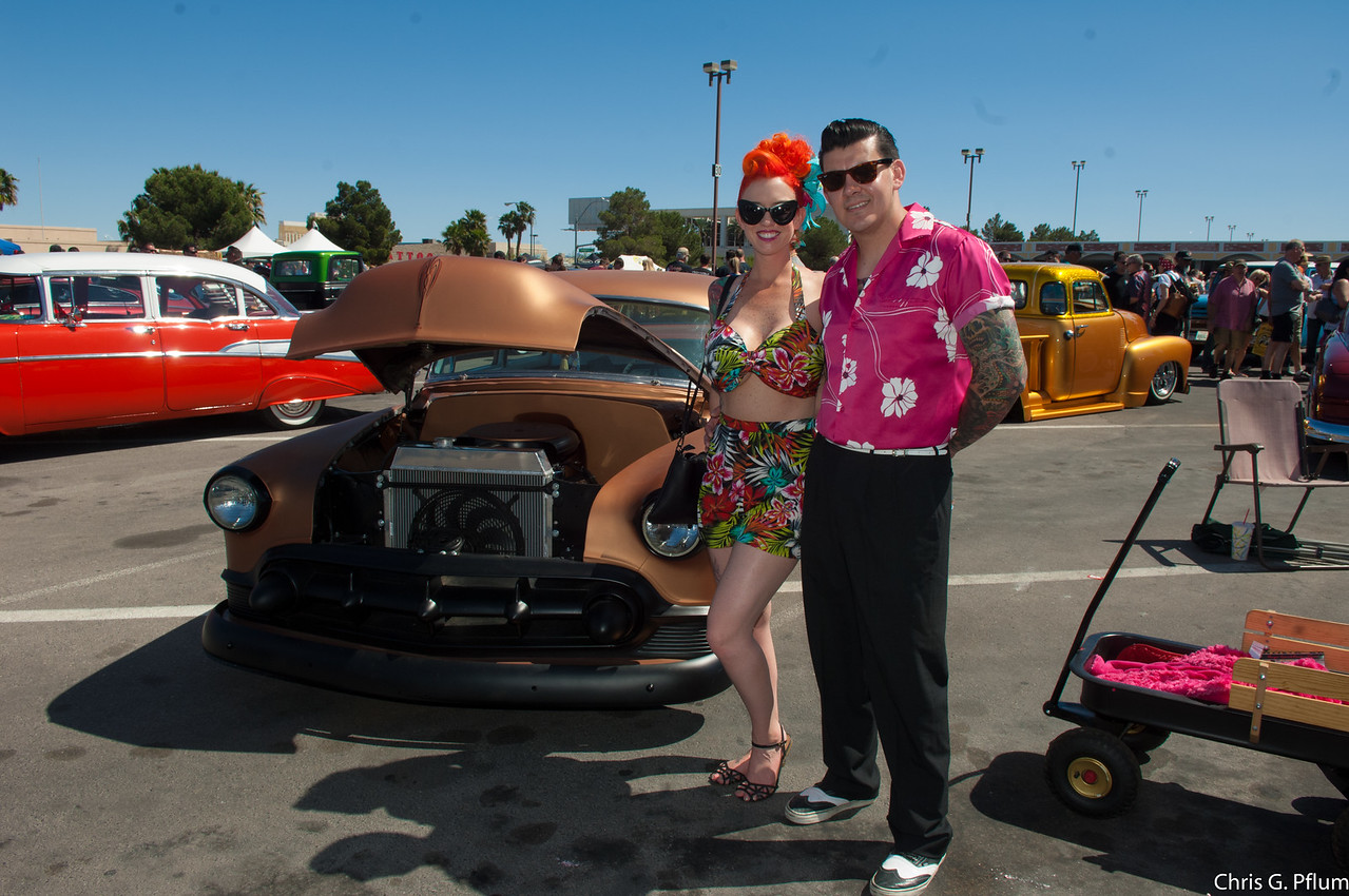 Rockabilly Car Show at the Orleans Casino. - 2016
