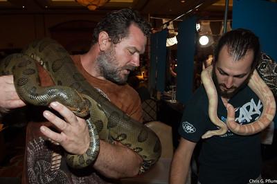Reptile Show ar the Texas Station Casino